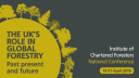 You can now book for ICF's National Conference 2019: The UK's Role for Global Forestry