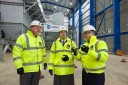 Energy minister visits the bio energy plant in Birmingham