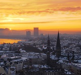 Picture of sunrise over Bonn for Your Expert Witness story